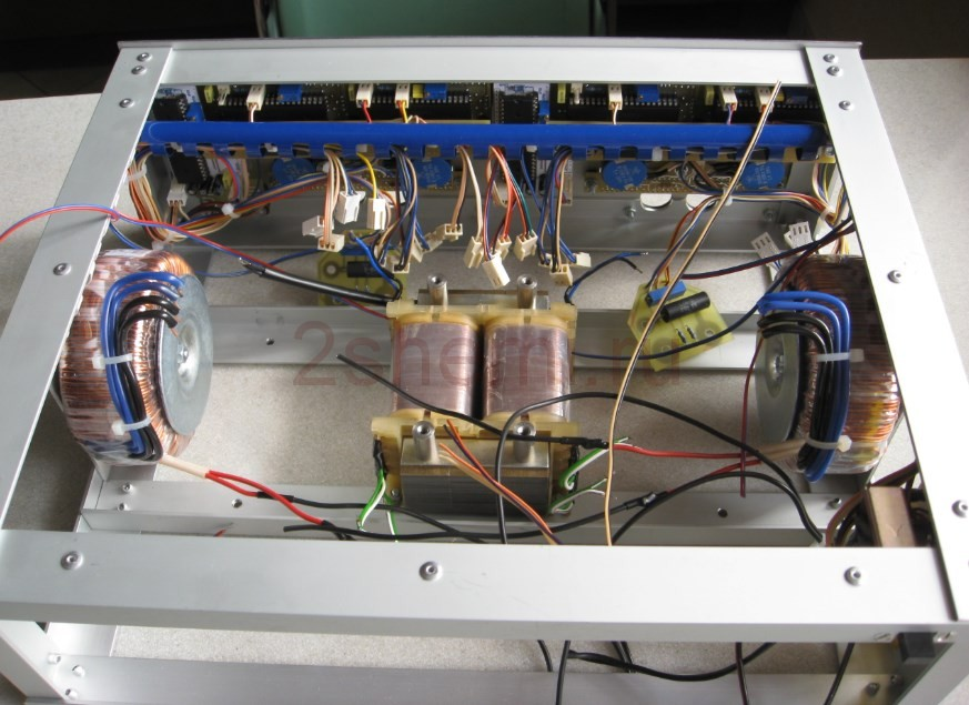 Самодельный лабораторный регулируемый БП