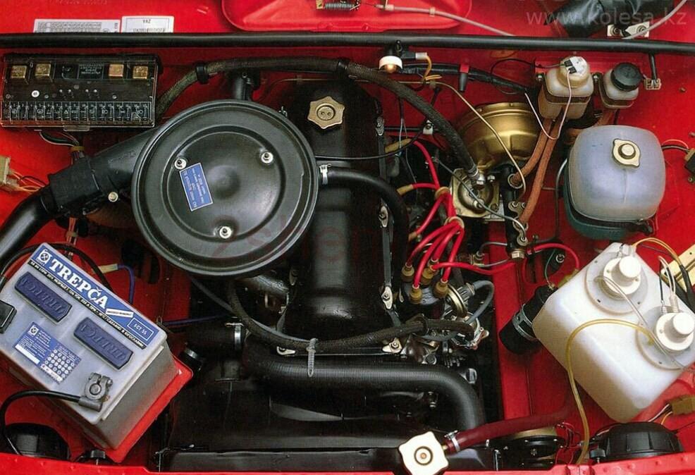 Как сделать двигатель ваз 2107
