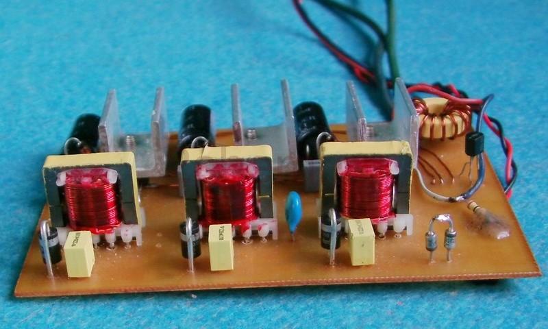 Частотный регулятор для трехфазного электродвигателя