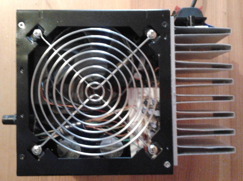 Усилитель НЧ 100 Вт на микросхемах TDA7294
