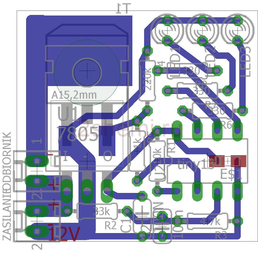 Устройство защиты для свинцового гелевого аккумулятора 12 В