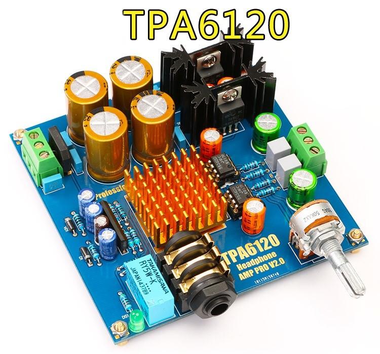 Усилитель для наушников на TPA6120