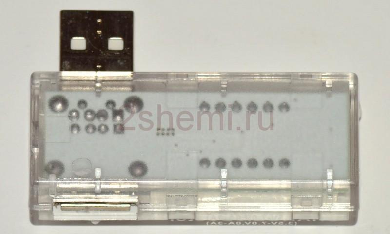 USB вольтметр-амперметр
