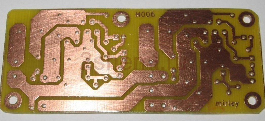 Самодельный звуковой усилитель на микросхеме