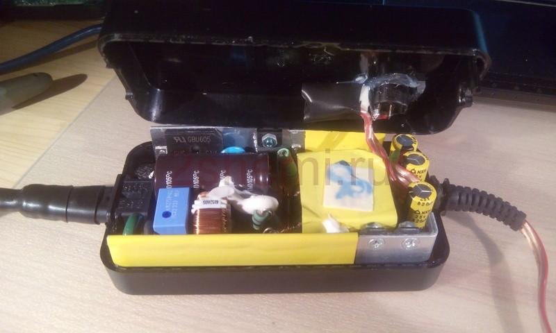 Зарядное устройство для свинцово-кислотных аккумуляторов из импульсного БП
