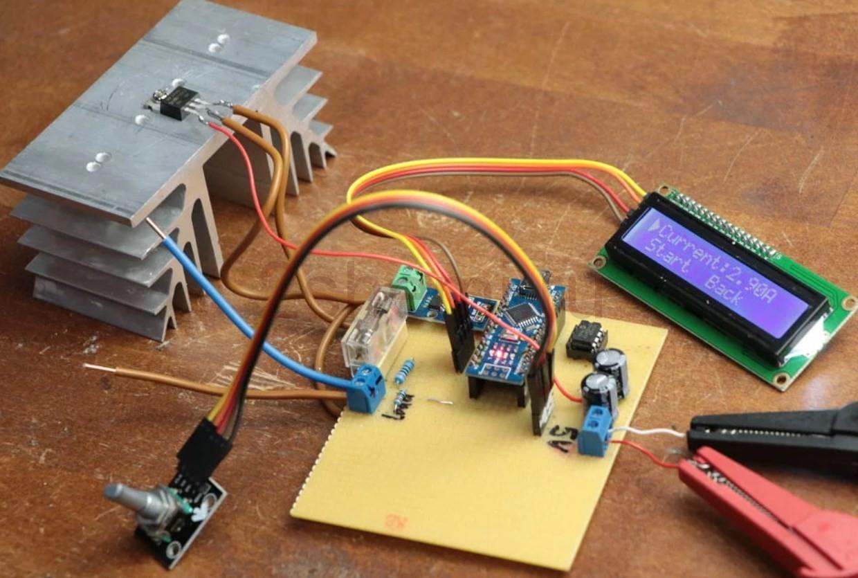 Электронная токовая нагрузка