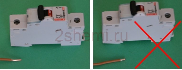 Автоматический выключатель максимальной токовой защиты