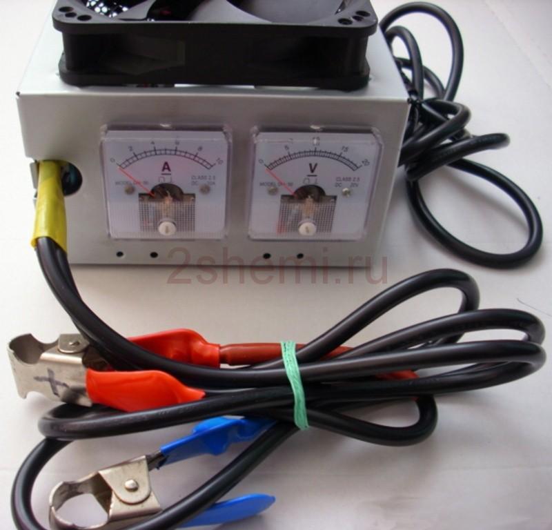Простое автоматическое зарядное устройство для авто