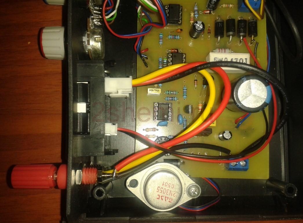 Стабилизатор с регулировкой I/V