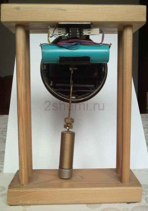 Самодельные часы с маятником
