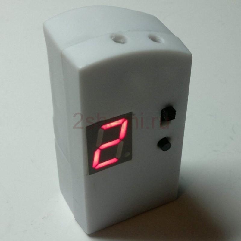 Бесконтактный цифровой тахометр - частотомер