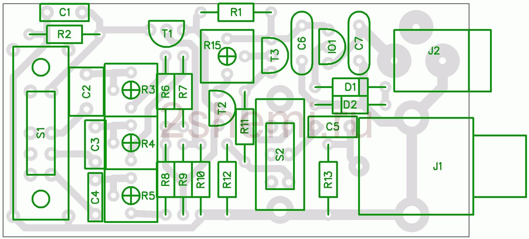 Генератор звуковых частот для проверки усилителей НЧ