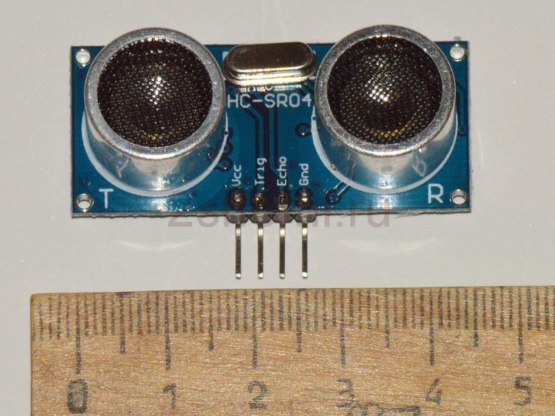 Ультразвуковой датчик измерения расстояний HC-SR04