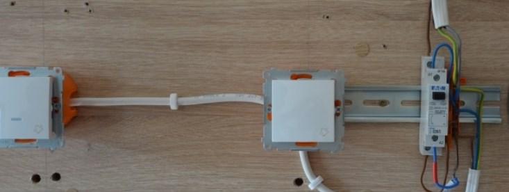 Импульсное реле для управления освещением - схема бистабильного реле
