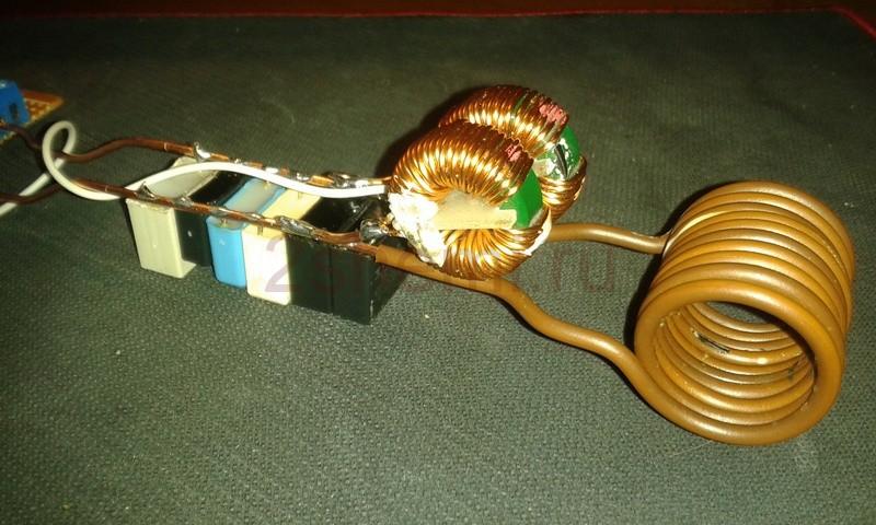 Схема самодельного индукционного нагревателя