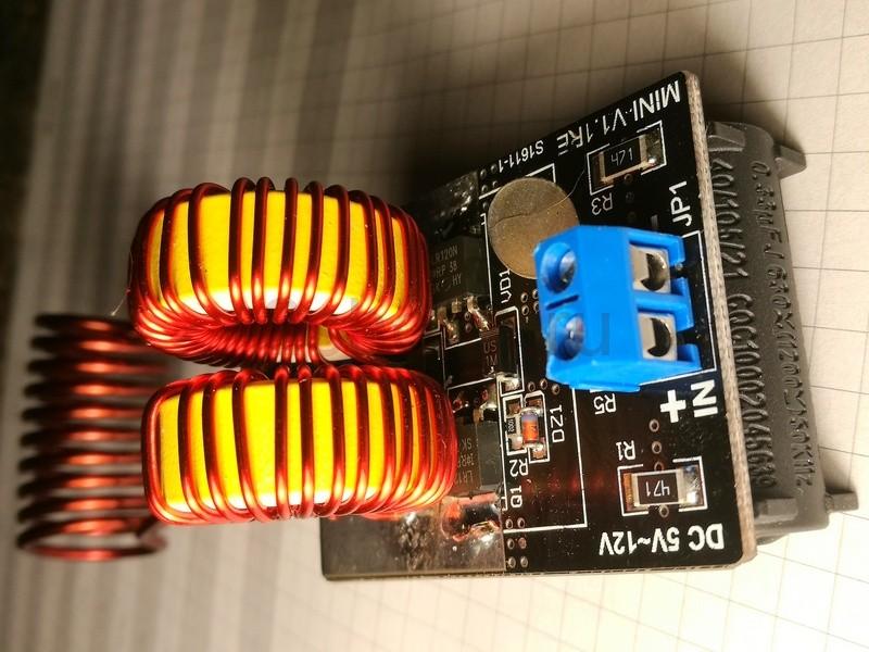 Простой индукционный нагреватель металла