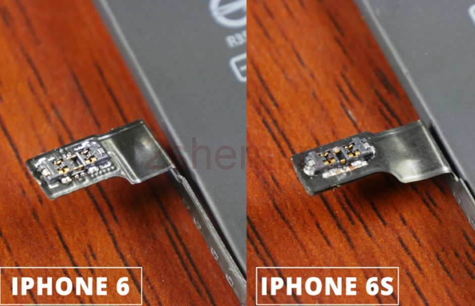 Распиновка разъёма батареи iPhone и замена АКБ
