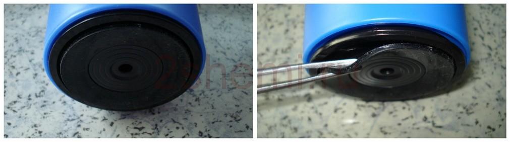 Беспроводная мышь беспрерывной работы с неопрокидываемой кружкой