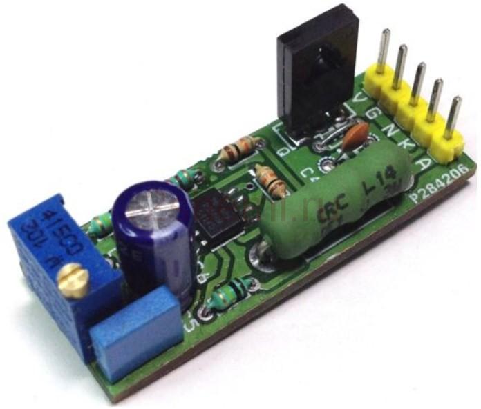 Драйвер для лазерного диода - схема подключения лазера