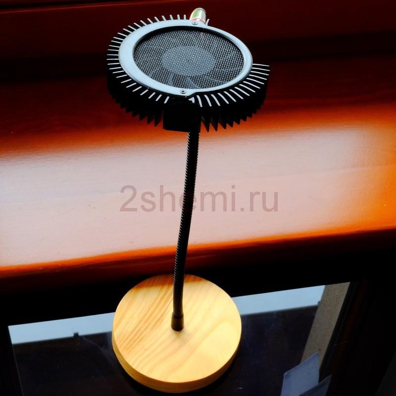 Светодиодная лампа с вентилятором
