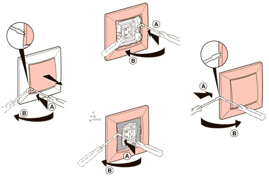 Схема подключения проходного выключателя с 2х или 3х мест