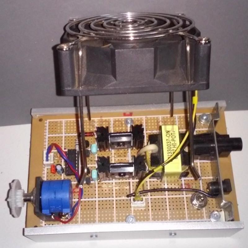 Акустическая левитация - схема и испытания устройства