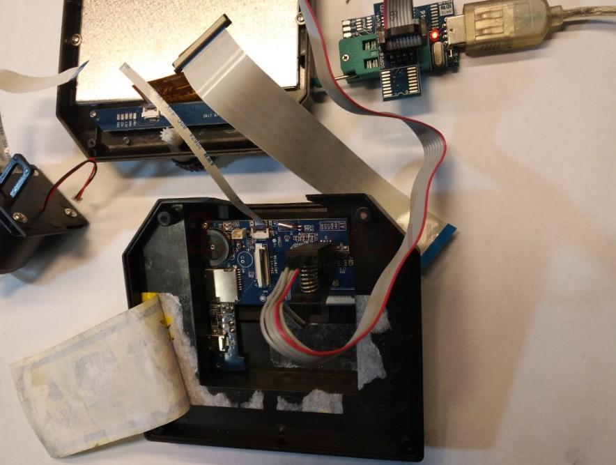 Цифровой микроскоп USB с ЖК дисплеем