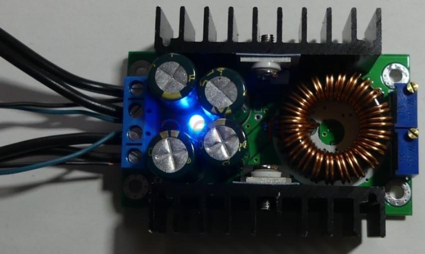 Модуль понижающего преобразователя напряжения DC-DC