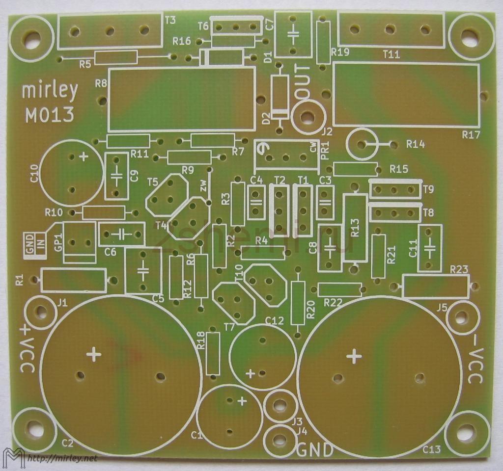 Усилители на транзисторах » Журнал практической