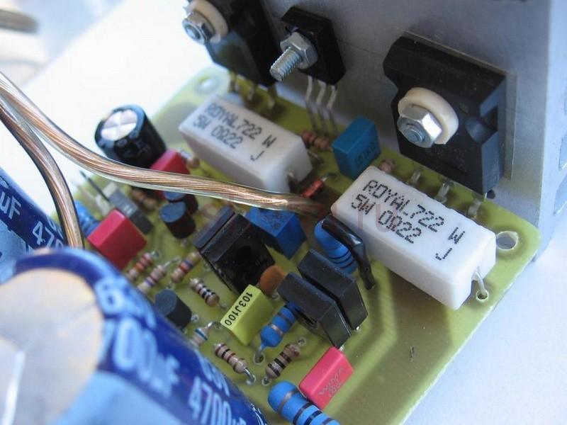 Описание работы усилителя мощности звука на транзисторах MOSFET