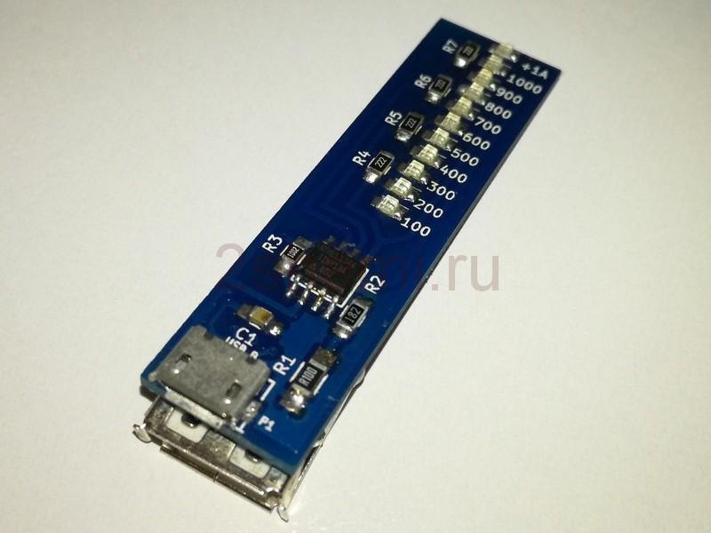 Тестер мощности USB питания