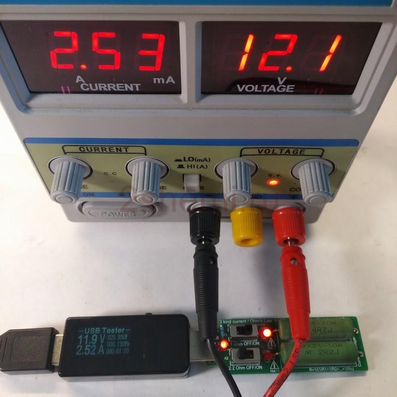 USB тестер ёмкости АКБ, тока, напряжения и мощности нагрузки