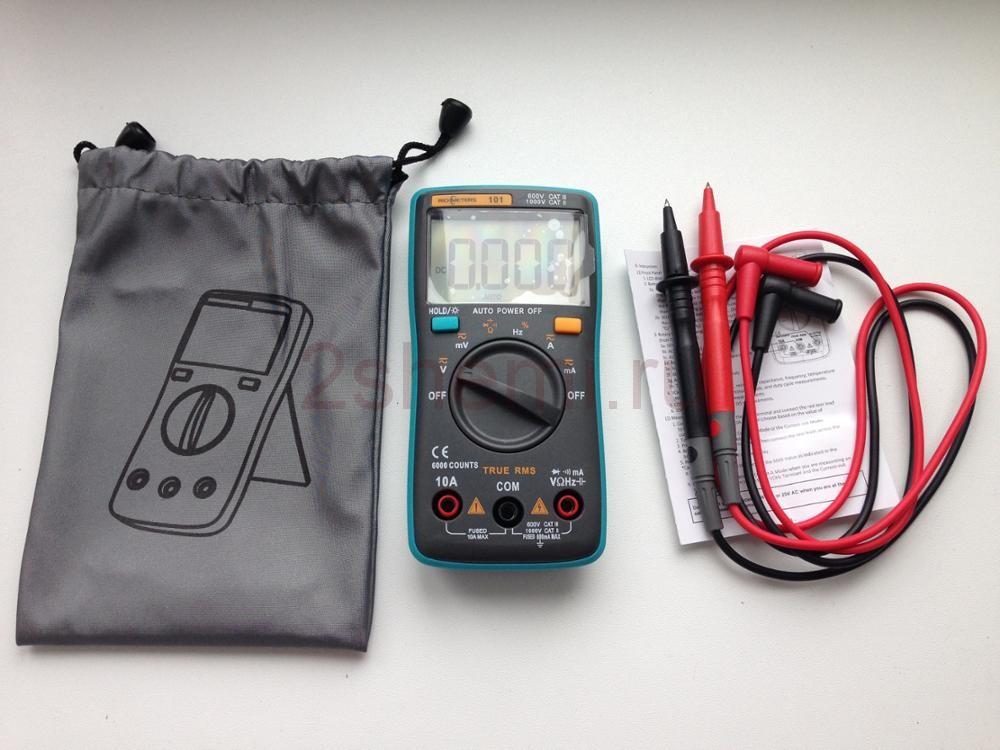 Цифровой мультиметр RM101 - обзор, характеристики, цена