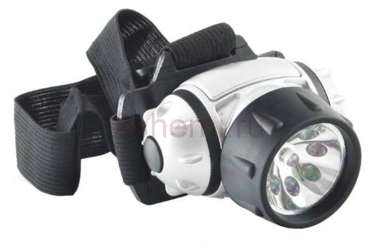 Замена светодиодов в фонарике