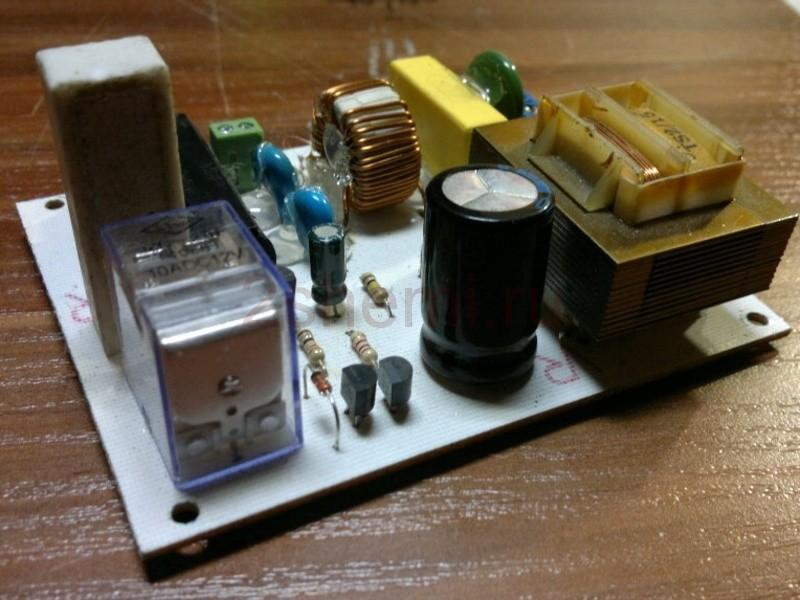 Устройство плавного пуска трансформатора
