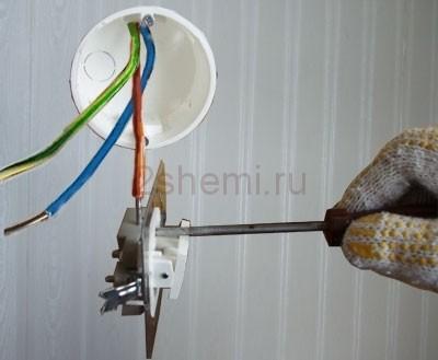 Как подключить включатель на свет