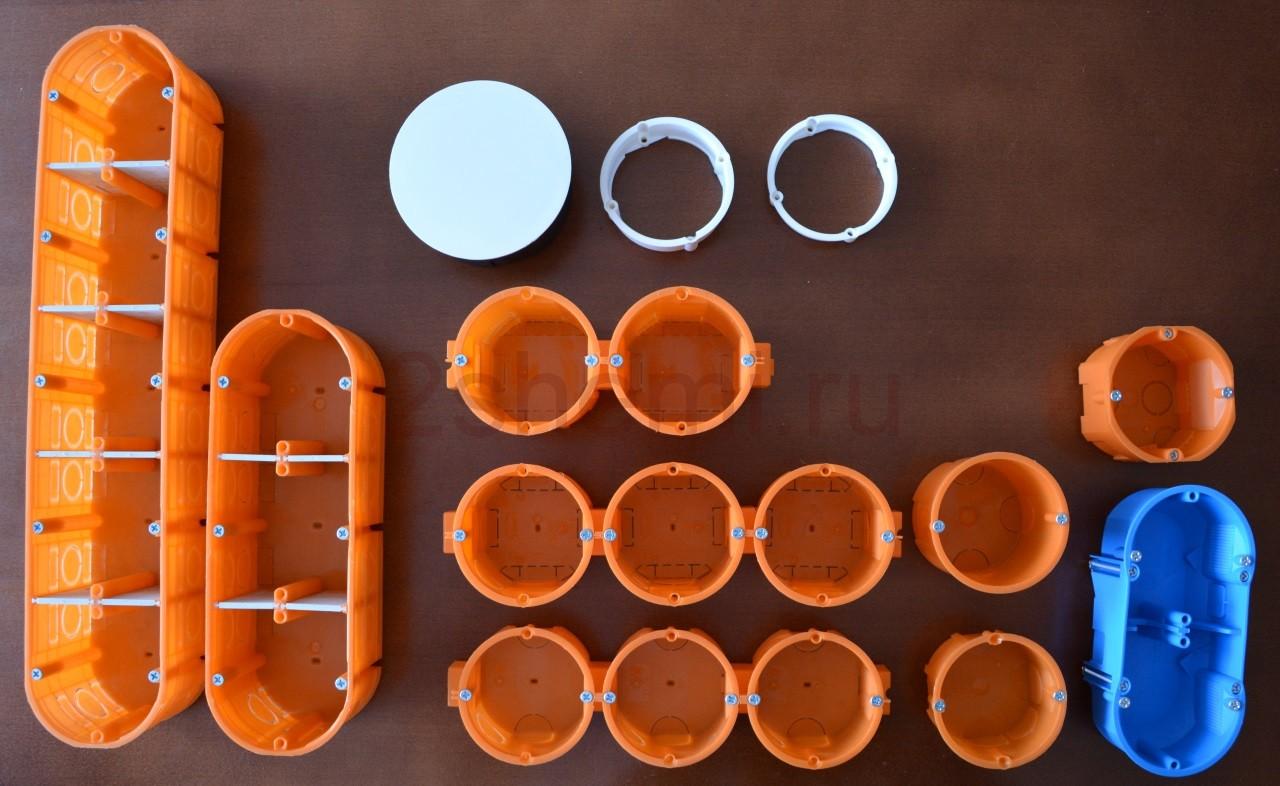 Подрозетники: выбор и установка короба для розетки в стене