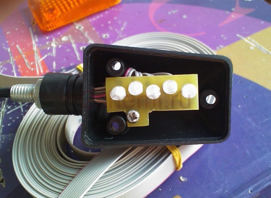 Стоп-сигнал и указатель поворотов своими руками - схема и описание
