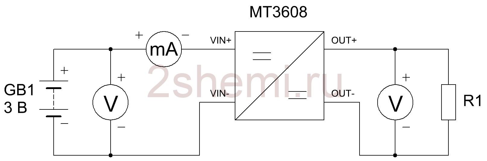 Повышающий преобразователь напряжения MT3608