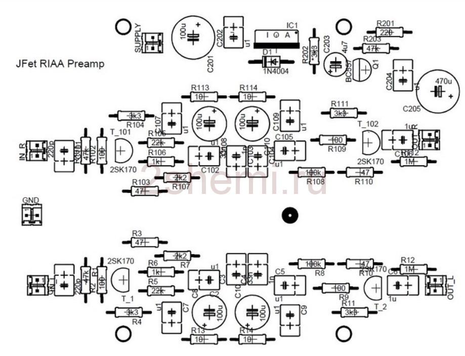 Предусилитель для проигрывателей виниловых дисков