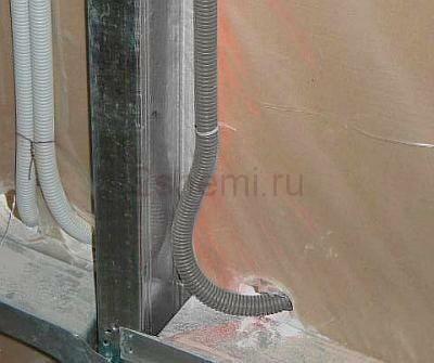 Монтаж электропроводки в трубах, плинтусах и кабельных каналах