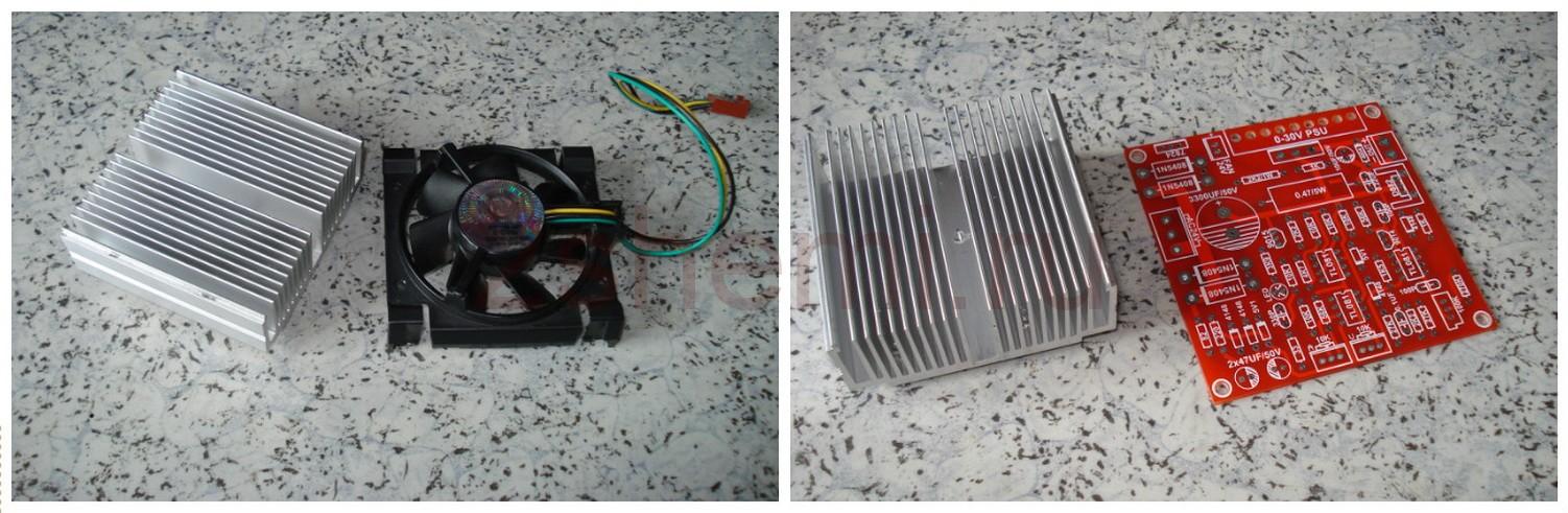 Радиатор охлаждения для китайского модуля БП