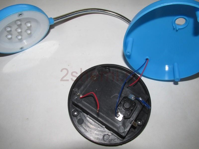 Переводим LED светильник на Li-Ion питание