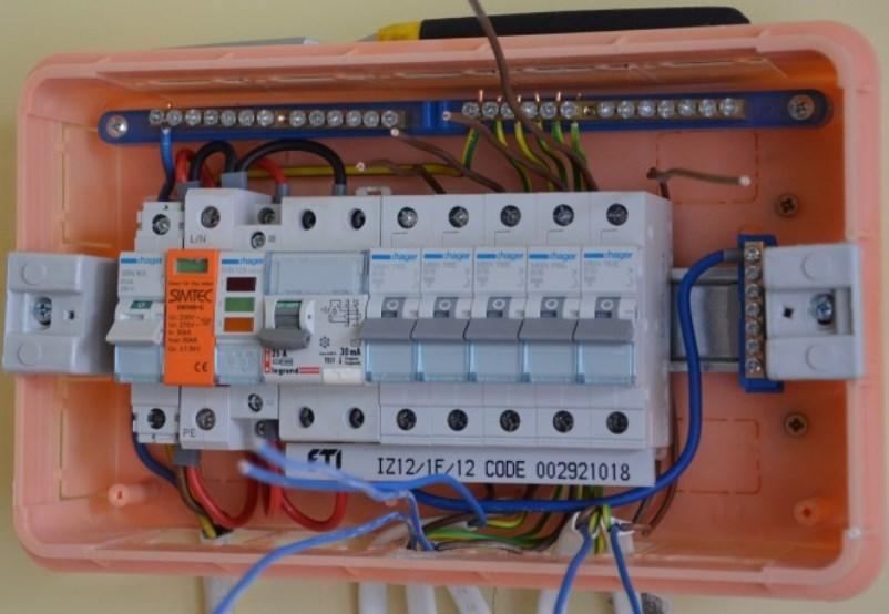 Устройство электрощита в частном доме