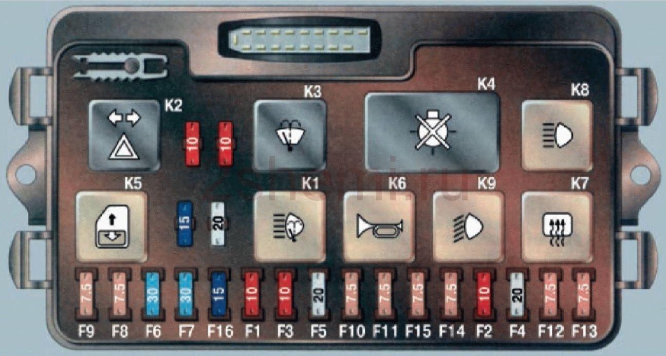 Схема ВАЗ-2108