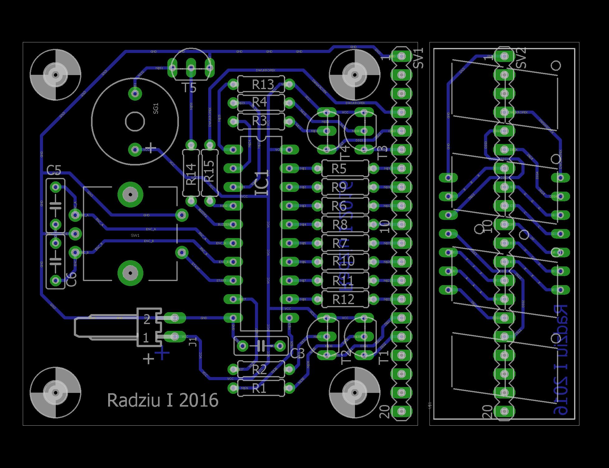 Очень удобный таймер обратного отсчёта с цифровым дисплеем LED