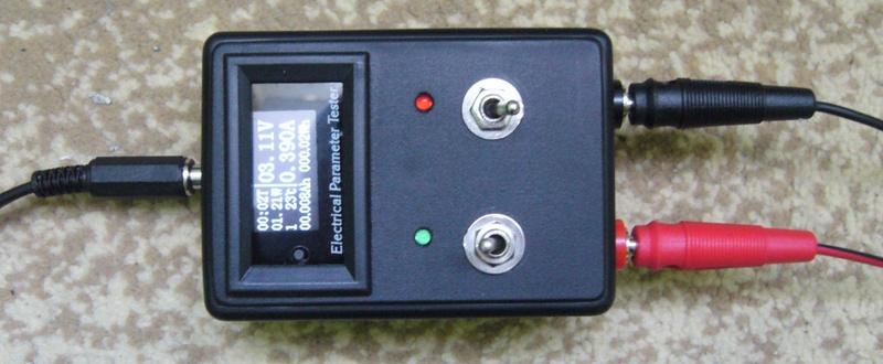 Зарядное устройство для аккумуляторов Li-ion 3.7 V с измерителем ёмкости