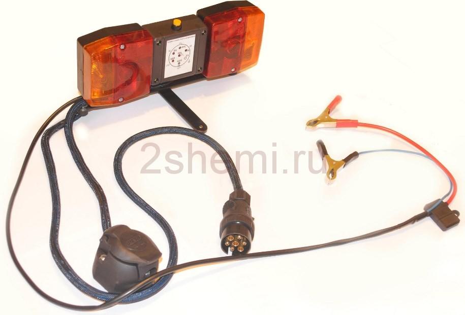 Тестер проводки и фар для трейлера или прицепа