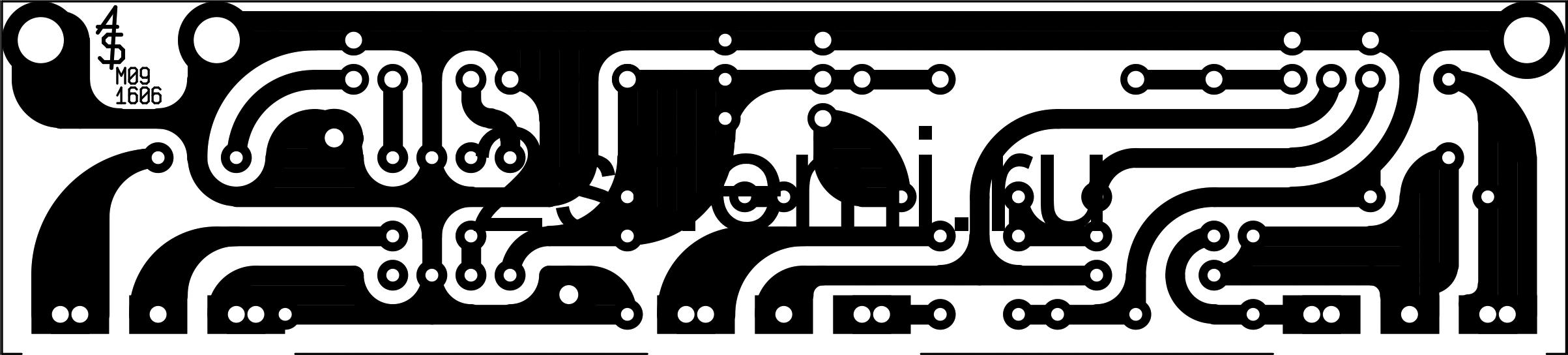 Гитарный комбик с питанием от аккумуляторов - схема и корпус