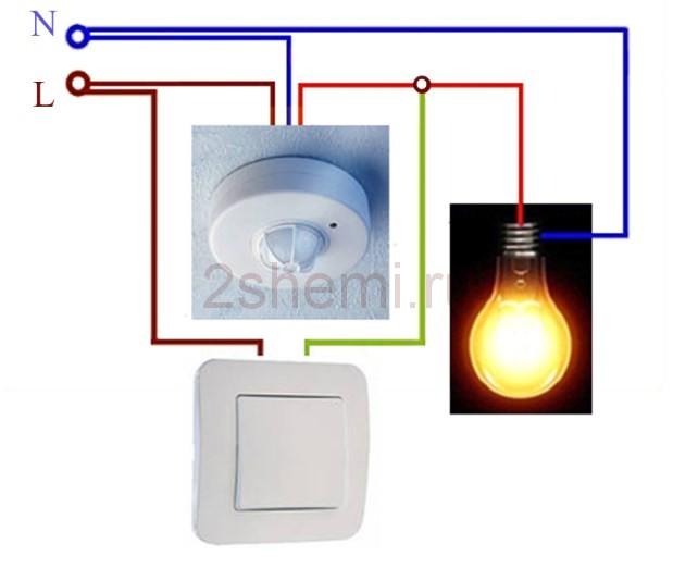 Дистанционное управление освещением